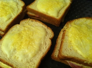 croque-monsieur bechamel